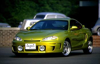 Hyundai Coupe body kits