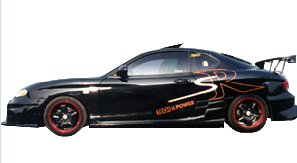 Hyundai Coupe body kits