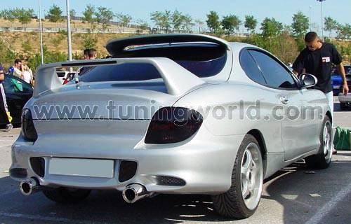 Hyundai Coupe modified
