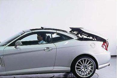 New Hyundai Coupe Tuscani cabriolet