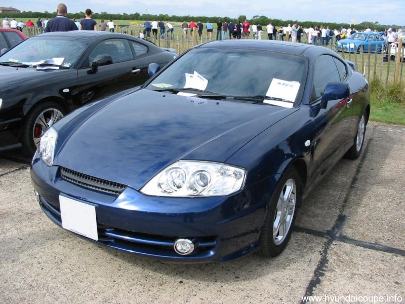 Hyundai Coupe Meet