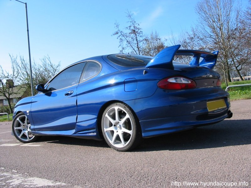 Hyundai Coupe supercharged
