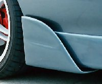Hyundai Coupe Side Flaps