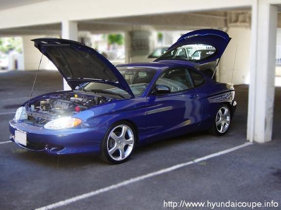 Rodneys Hyundai Coupe