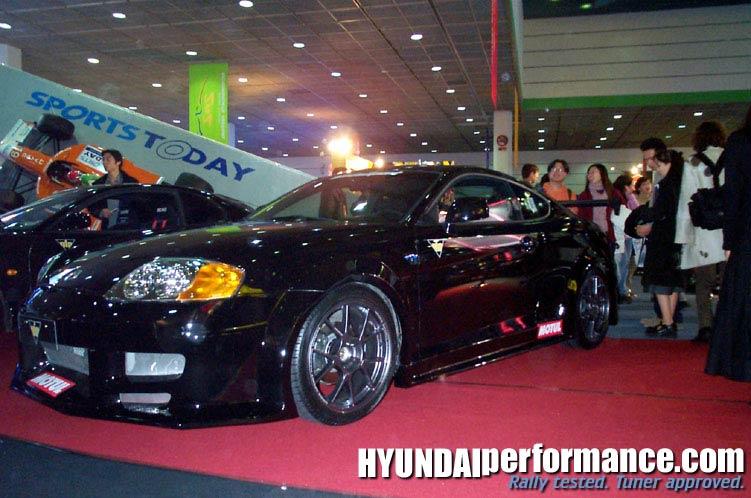 Hyundai Coupe body kit