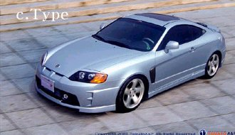 Hyundai Coupe body kit