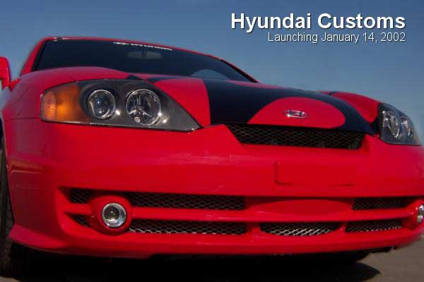 Hyundai Coupe Custom