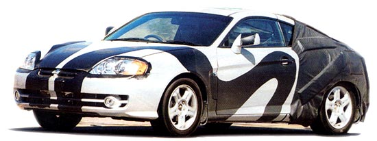 New Hyundai Coupe Tuscani GK